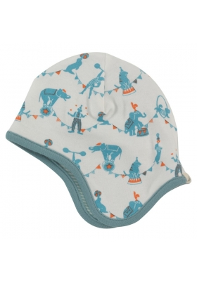 Reversible circus bonnet - Blue