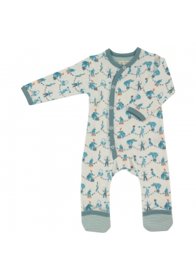Long Circus romper - Blue