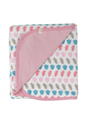 Reversible blanket - Acorn