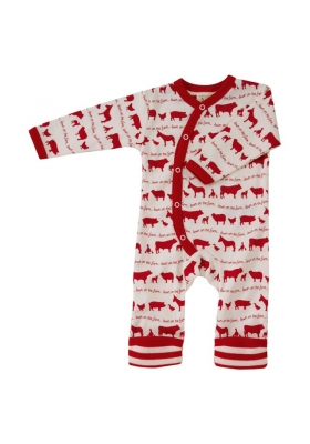 Long Farmyard Romper