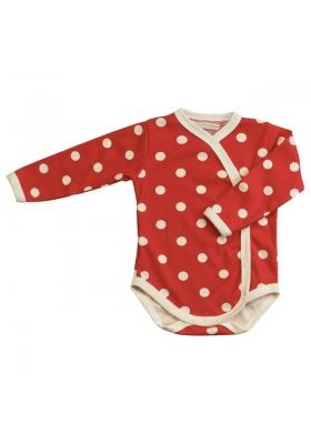Red spotty kimono body