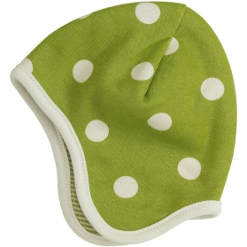 Reversible spotty bonnet