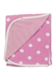 Reversible Spotty Pink Blanket