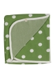Reversible Spotty Green Blanket