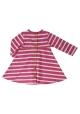 Breton stripe dress