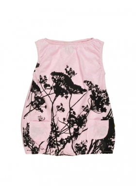 Noemi Dress Pink Grasses