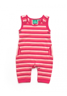 Ice Cream Stripe dungarees