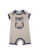 Short one piece - Grey Owl