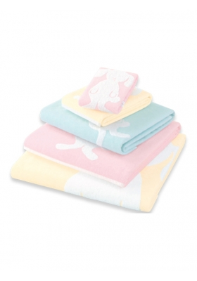 Bunny D Face Towel
