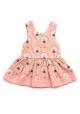 Pale Pink Peacock Diamond Dress
