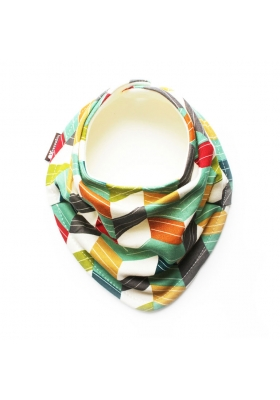 """OFF SET"" ORGANIC SCARF BIB"