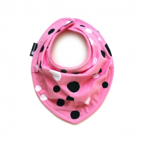 """Polka Dot in Action"" SCARF BIB"