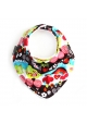 """SWEET DAYS"" ORGANIC SCARF BIB"