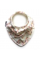 ARROWS CHEVRON ORGANIC SCARF BIB