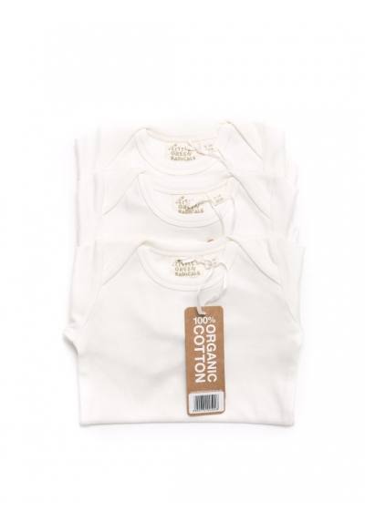 Long Sleeve Baby Body 3 Pack