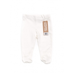 Footed Baby Trousers 3 Pack